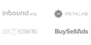 Inbound.org, Metalab, LessAccounting, BuySellAds