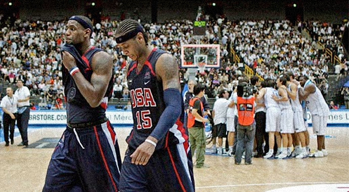2006 FIBA World Championships — Greece: 101 USA: 95