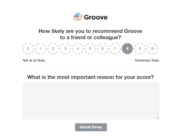 Lessons learned sending a net promoter survey to 4 000 users for Net promoter score survey template