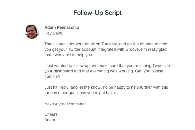 Use This Email Script To Follow Up On Customer Support Interactions