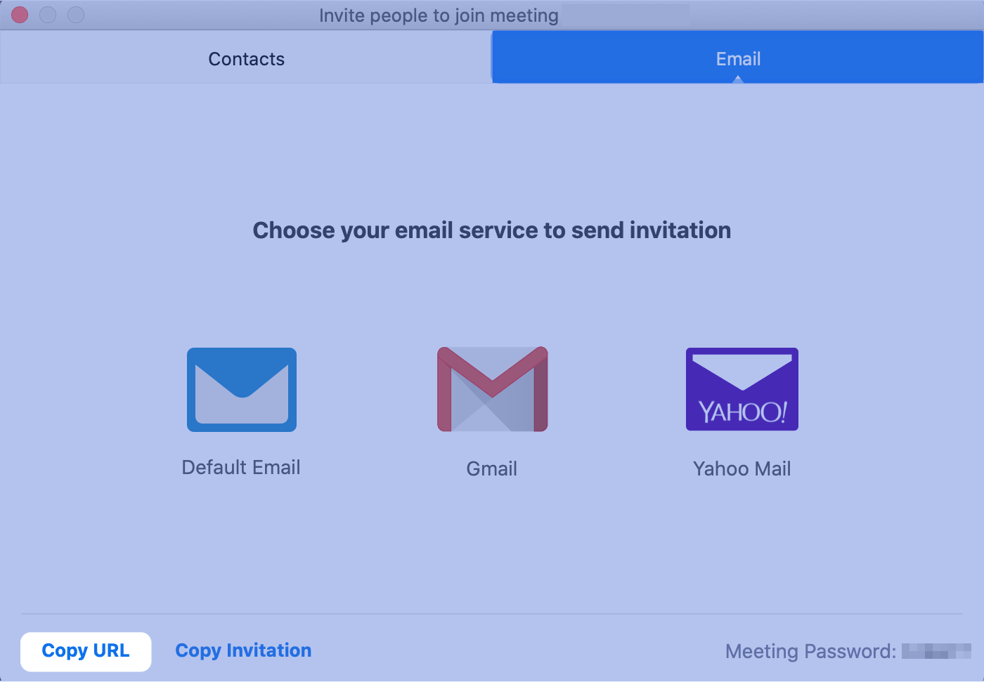 Zoom tip: Quick Invite