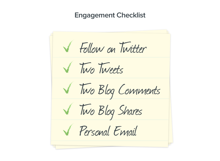1000 blog subscribers: Engagement checklist