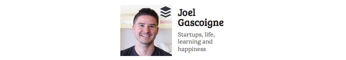 Joel Gascoigne logo