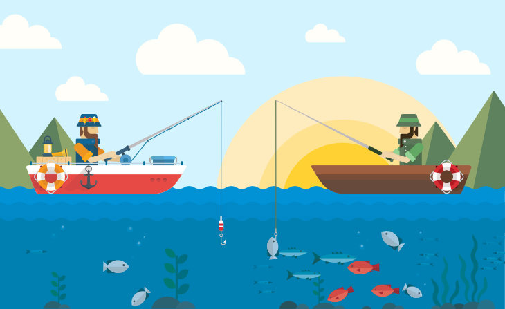 Growing an email list is a lot like fishing