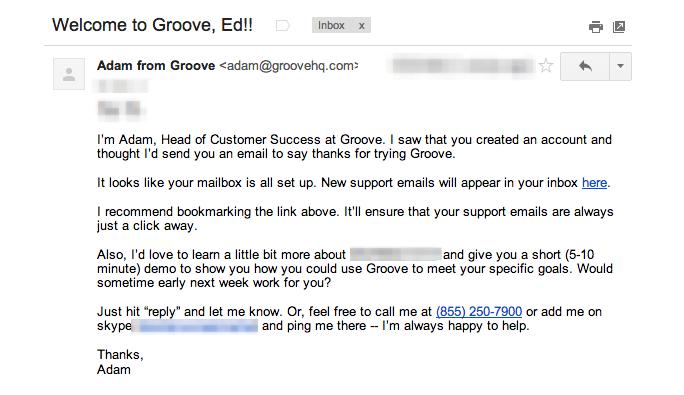 Mailbox Created