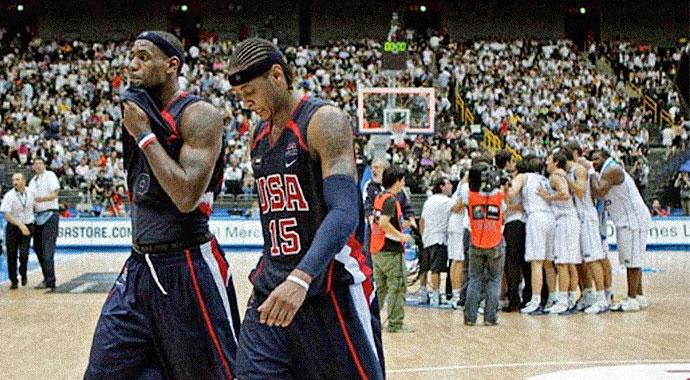 2006 FIBA World Championships — Greece: 101 USA: 95