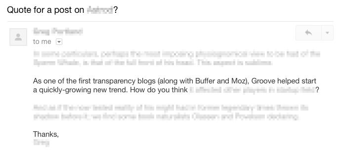 transparent blogs