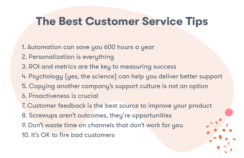 The Best Customer Service Tips