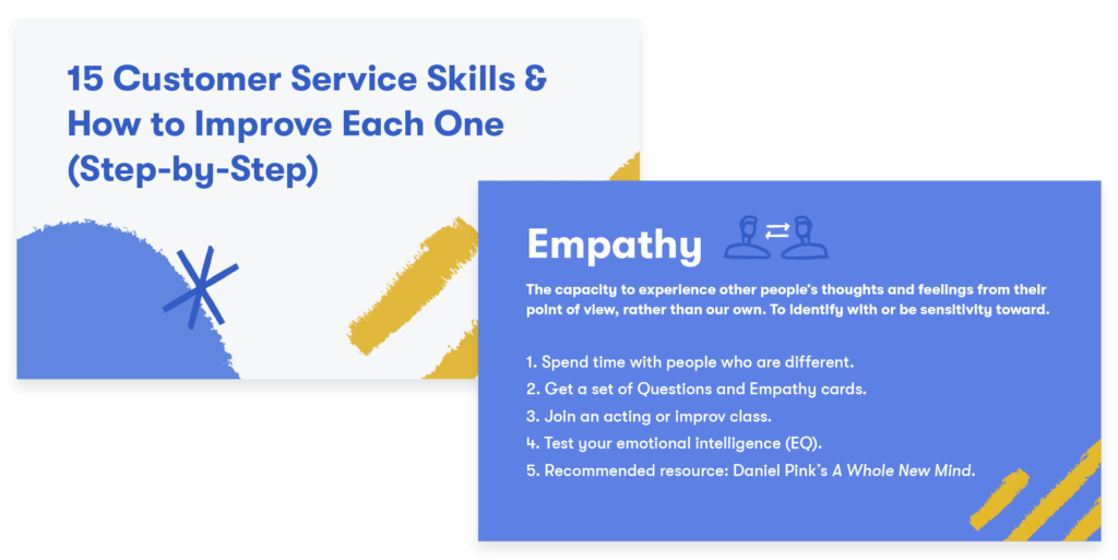 15 Customer Service Skills & How to Improve (Step-by-Step)