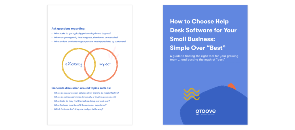 Questions to ask when choosing small business help desk ticketing software