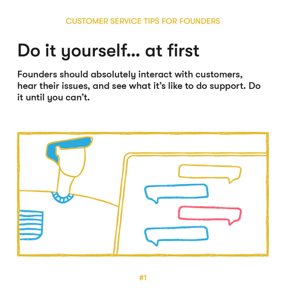 customer service tips 1 do it yourself