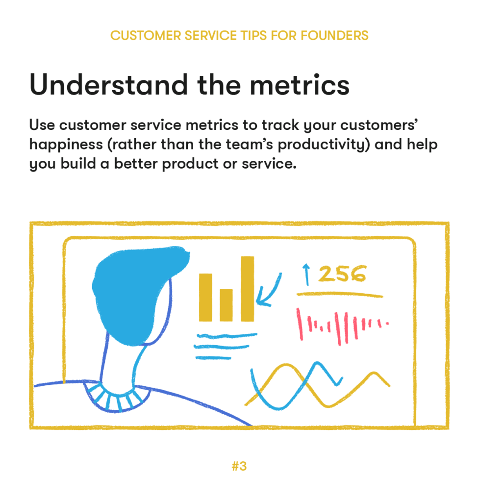 customer service tips 3 understand the metrics