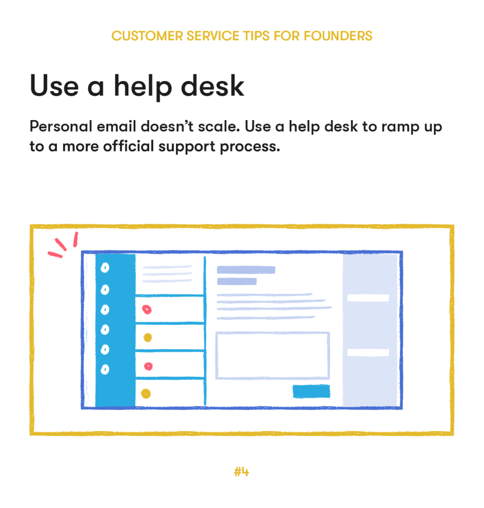 customer service tips 4 use a help desk