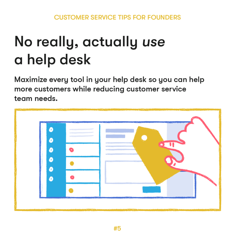 customer service tips 5 actually use a help desk