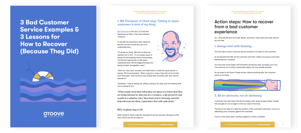 Download the PDF version of this article to keep in your back pocket (or on your desktop) to help with challenging customer situations.