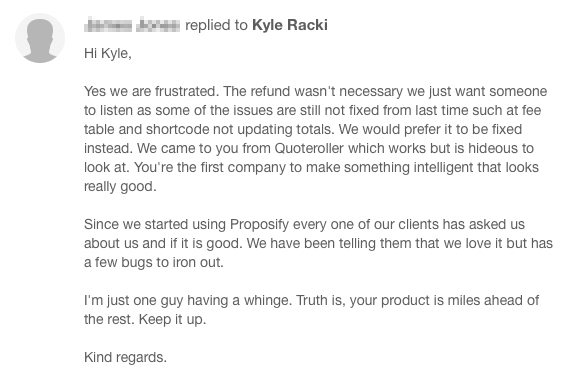 proposify-bad-customer-service-story