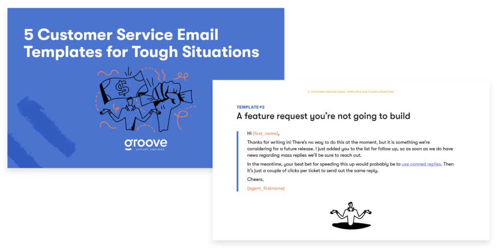 5 Customer Service Email Templates for Tough Situations Guide Preview