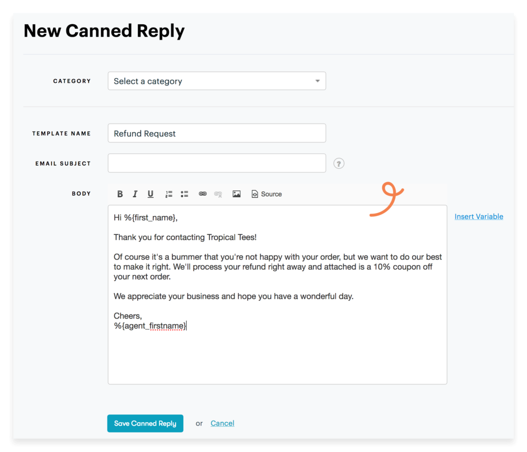 Customer Service Email Templates Response Example & 30 for Support