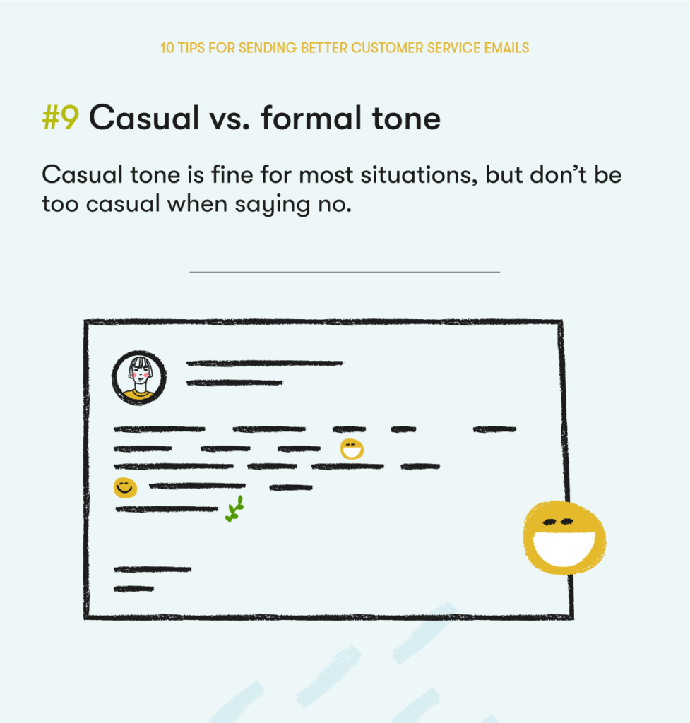 customer service email tip 9