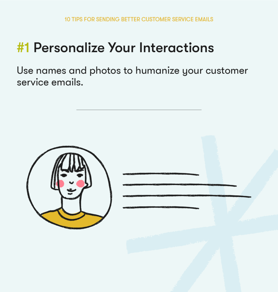 customer service email tip 1