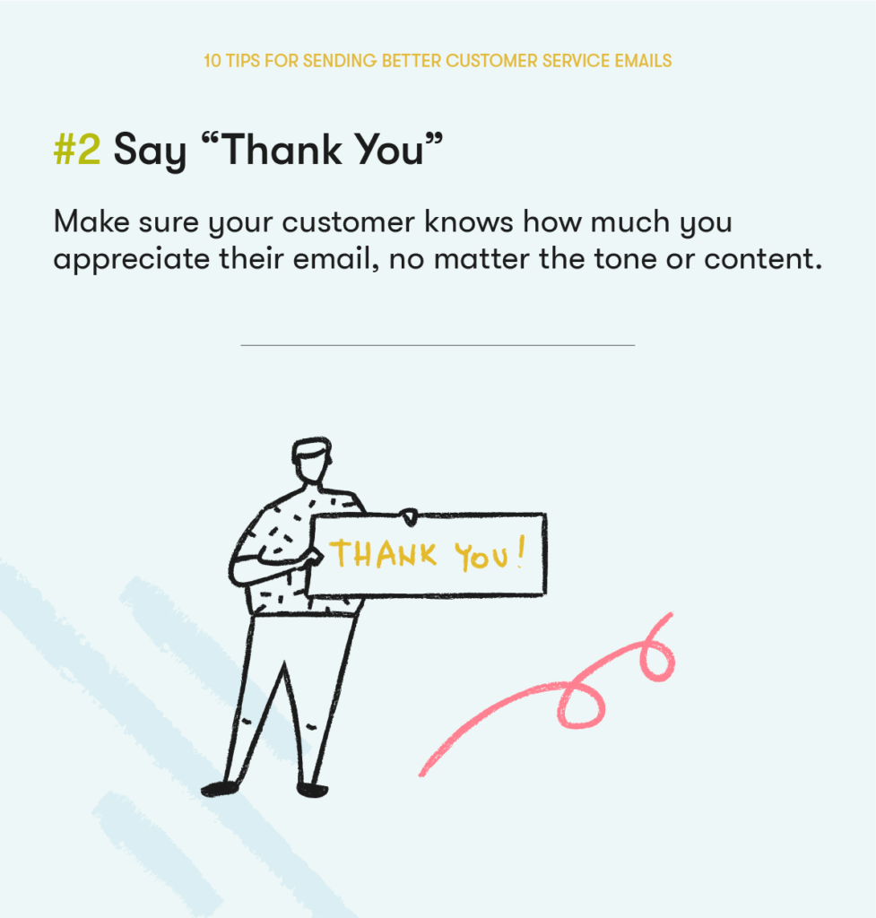 customer service email tip 2