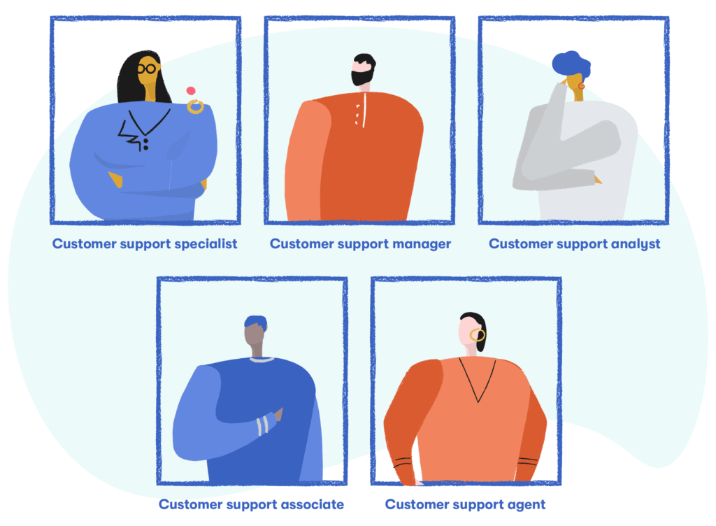 customer support roles