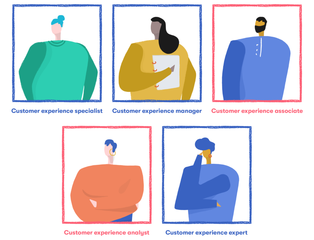 customer experience roles