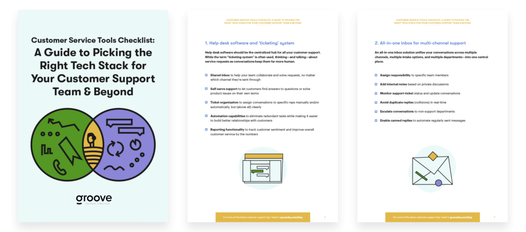 Customer Service Tools Checklist: A Guide to Picking the Right Tech Stack for Your Customer Support Team & Beyond