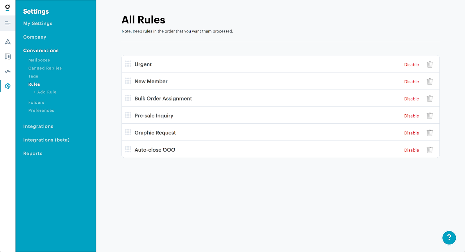 Rules can automate countless tasks within your help desk