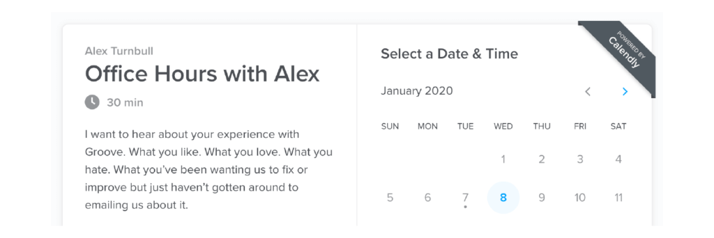 customer success tools 5 calendly for scheduling