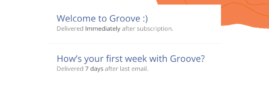 customer onboarding email sequence to new users