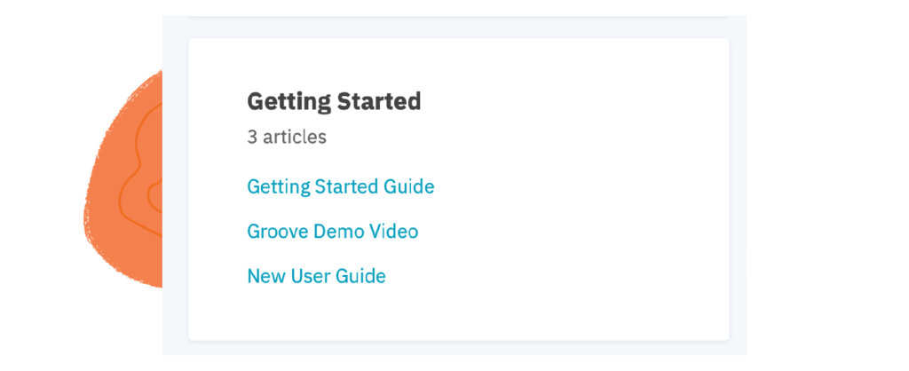 customer onboarding materials in our knowledge base