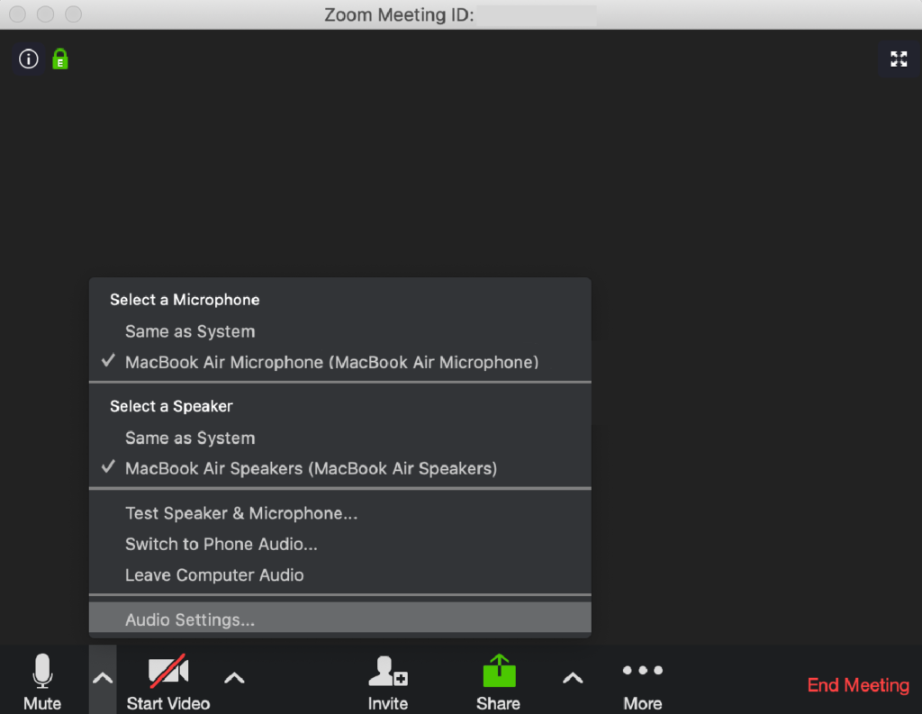 Zoom video conferencing app for microsoft