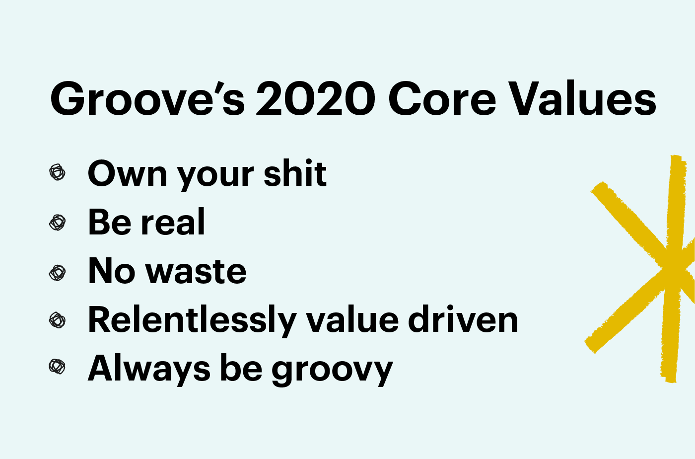 grooves core values for small business customer service
