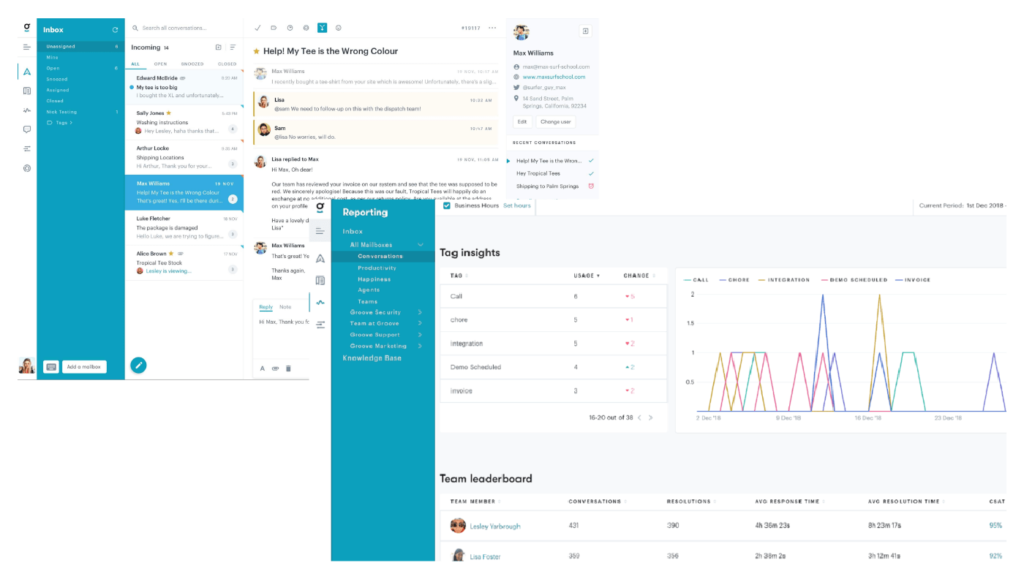 Top Customer Support Tools: Groove's all-in-one helpdesk