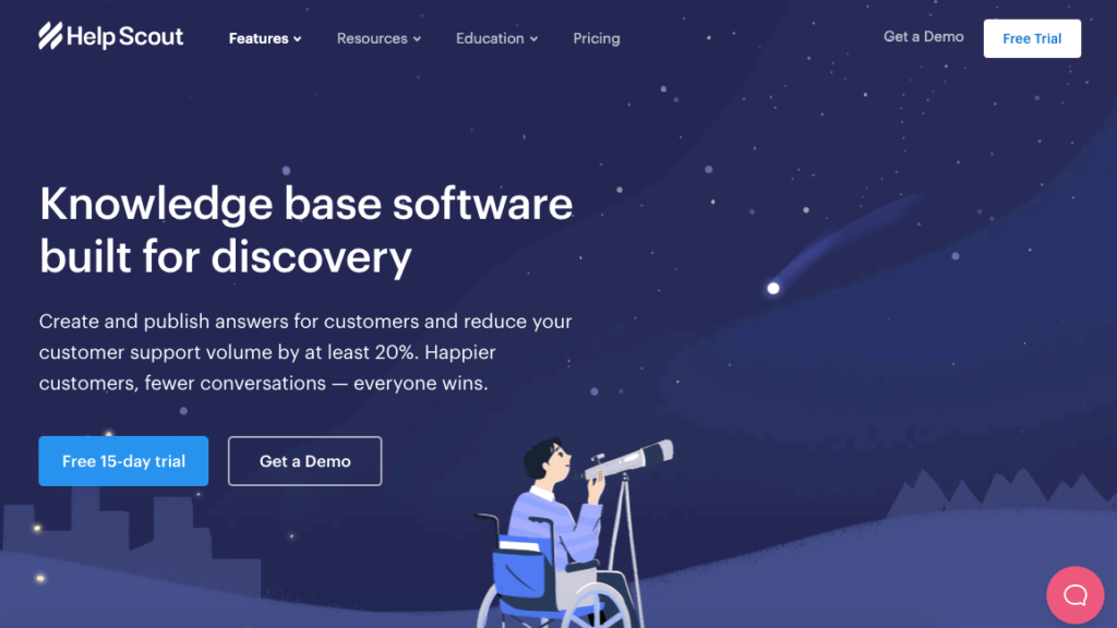 helpscout knowledge base software